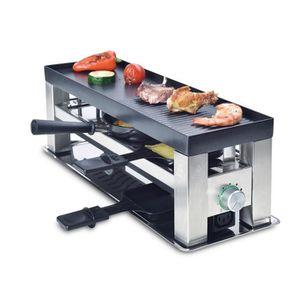 APPAREIL À RACLETTE Solis Grill 4 en 1 - 790 -  Appareil à raclette