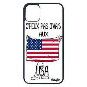 COQUE - BUMPER Coque j'peux pas j'vais au USA pour Apple iPhone 1