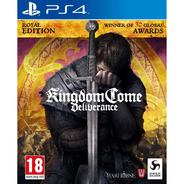 Kingdom Come Deliverance - Royal Edition - Game Of The Year Jeu PS4