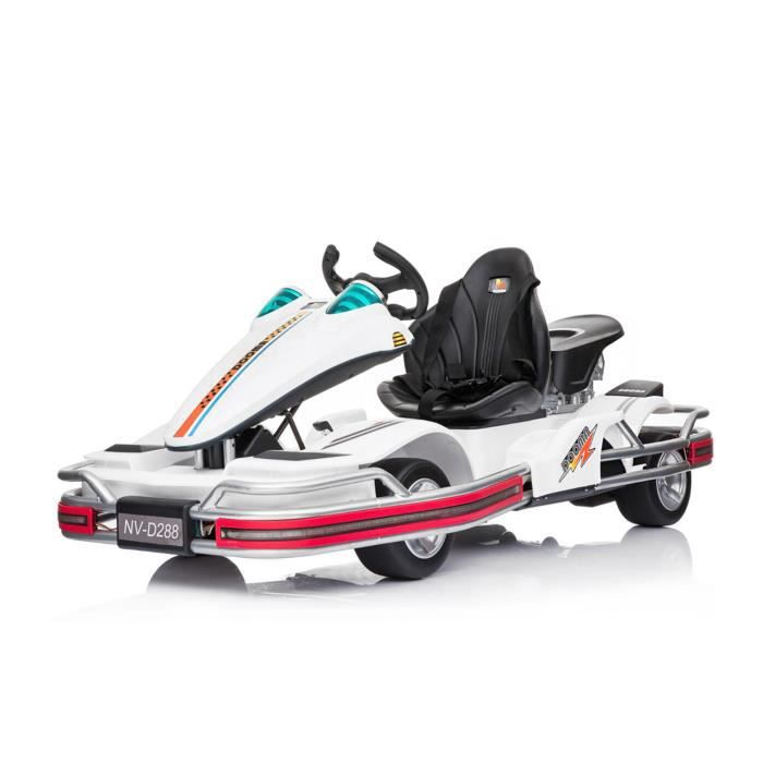 karting électrique blanc pour enfant GO! CART 2018 2x35W 12V 1191219