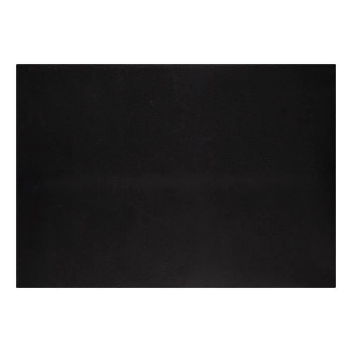 Feuille de cuisson en silicone, coloris: noir.