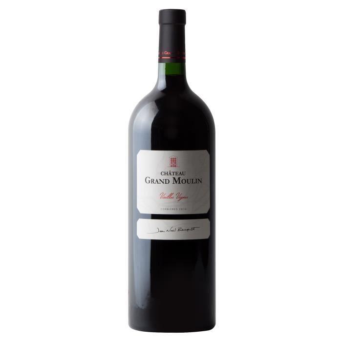 Vin Rouge Magnum VIELLES VIGNES Rouge 1.5L 2014 - Chateau Grand Moulin