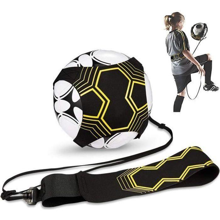 Ceinture Réglable Solo Kicking Pratique, Sangle Élastique pour Entraînement de Football, Football Kick Traine pour Enfant et Adulte