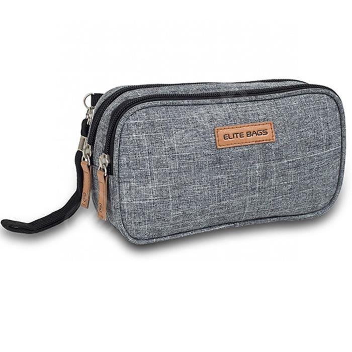 Sac isotherme pour kit du diabétique - Modèle Diabetic's Elite Bags - Design imprimé bicolore - Portez tout ce dont vous avez bes