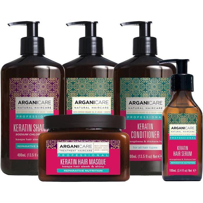 Soins des cheveux Arganicare AGN022 Masque Argan-Kératine 500 ml 147294