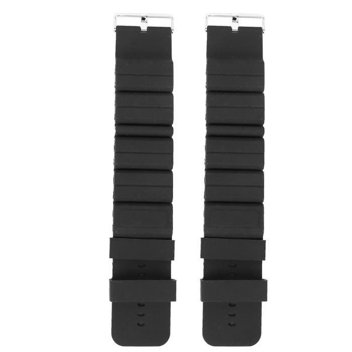 Bracelet de poids de formation de bras 1 paire de poids de poignet, sangle de réglage Bracelet de poids unisexe Yoga pour la course