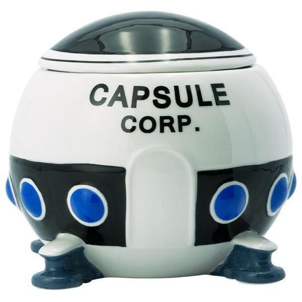 Dragon Ball Capsule Corp. 3D Tasse Unisexe Mug multicolore