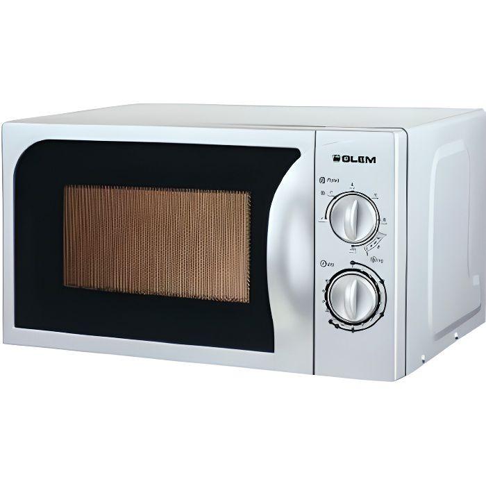 Micro-ondes grill pose libre GLEM, Silver