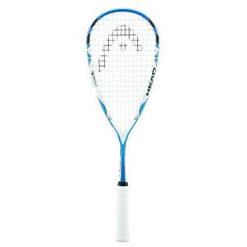 Head Microgel 125 - Raquette de squash - Bleu/blanc - Taille 100