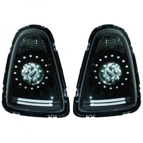 Kit de feux arrières version LED noir MINI Cooper de 06 à 10 - 1206998