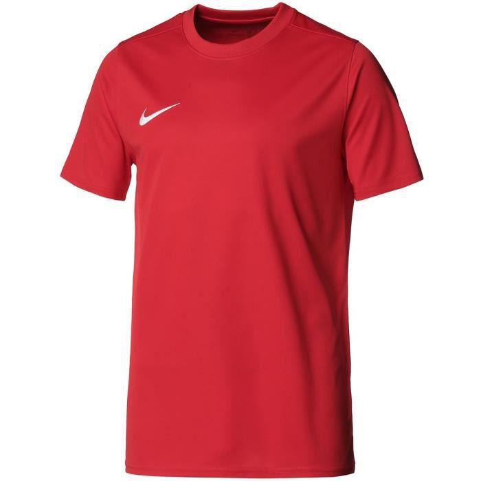 NIKE Maillot de football Dri-FIT Park 7 JBY - Homme - Rouge et blanc