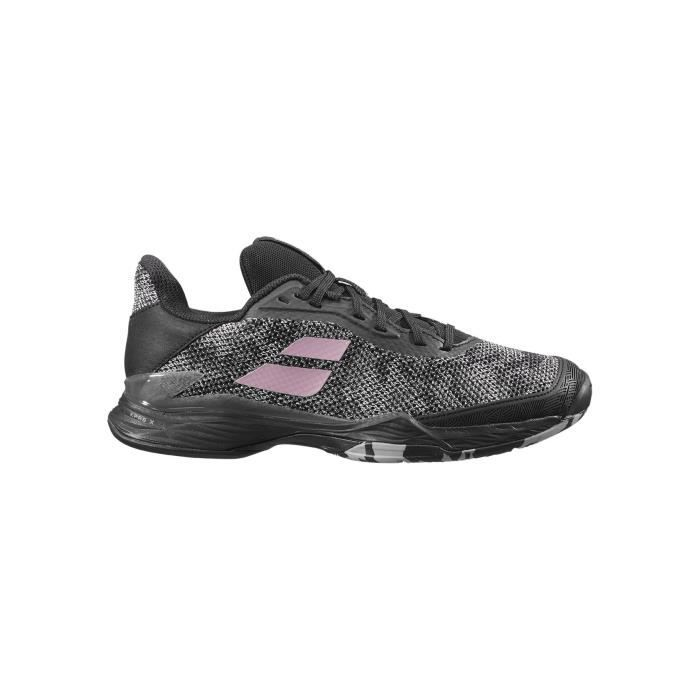 Chaussures BABOLAT Femme Jet Tere Clay Noir / Rose PE 2020