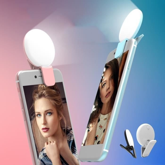 Smartphone - Mobile / Accessoire - Piece Detachee Pda / Accessoire - Piece Detachee Pda - Clip Flash Selfie pour ZTE Axon Elite