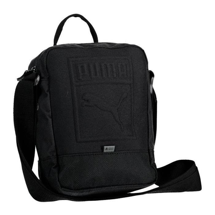bagages Sacs à bandoulière Puma S Portable - Taille Unique - Noir