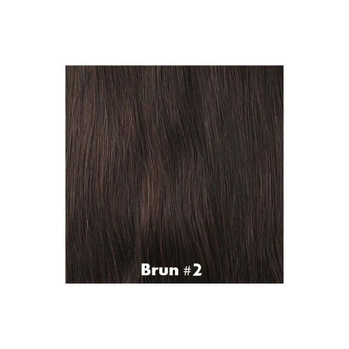 Tissage Brésilien Bouclé Brun 35cm 14 pouces