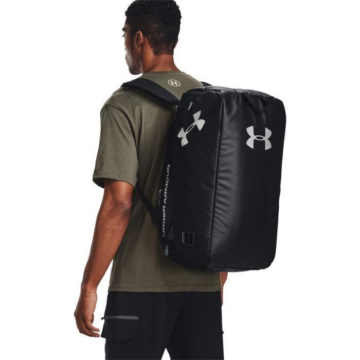 Petit sac de sport Under Armour double compartiment - noir/argenté/noir - TU