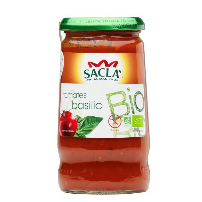 Tomates basilic bio - 345g