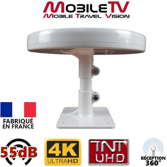 Antenne tnt mobile for Antenne rateau tnt exterieur