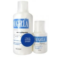 saugella dermoliquide 500 ml 1 flacon voyage achat vente gel cr me douche saugella. Black Bedroom Furniture Sets. Home Design Ideas