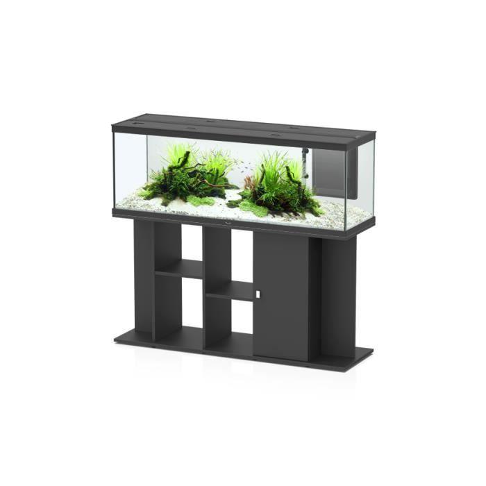 Meuble Aquarium Style Led Noir 150cm Aquatlantis Achat Vente Sous Meuble Meuble Aquarium Style Led Noir Cdiscount