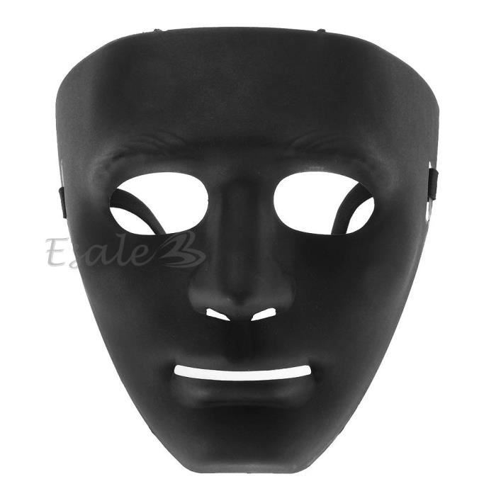 masque mask en plastique noir pour d guisement halloween f te cs paintball neuf achat vente. Black Bedroom Furniture Sets. Home Design Ideas