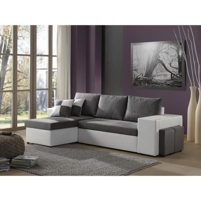 toledo canap d angle r versible convertible avec coffre. Black Bedroom Furniture Sets. Home Design Ideas