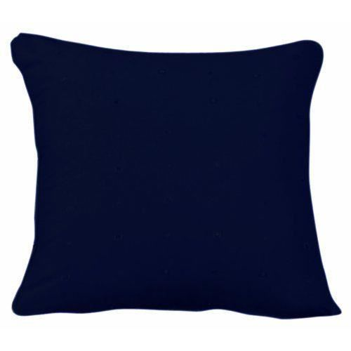 curtina hudson coussin bleu marine 43 cm x 43 cm achat vente coussin cdiscount. Black Bedroom Furniture Sets. Home Design Ideas