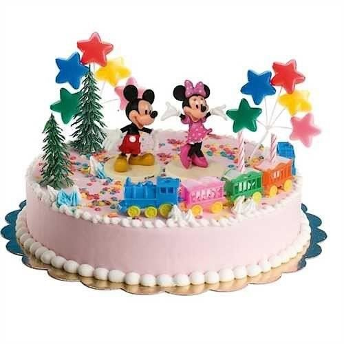 kit d coration de gateau mickey et minnie achat vente. Black Bedroom Furniture Sets. Home Design Ideas