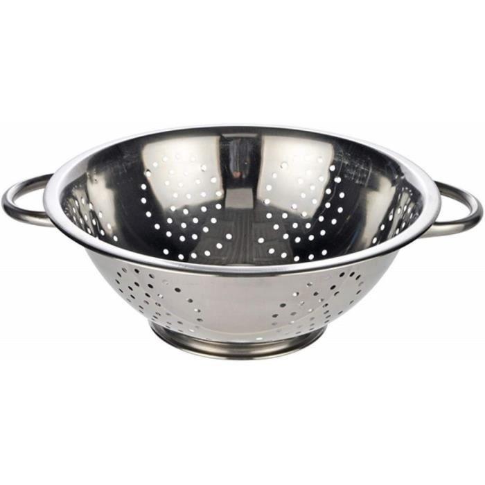 Passoire de cuisine en acier inoxydable avec poign/ée pour filtre /à eau