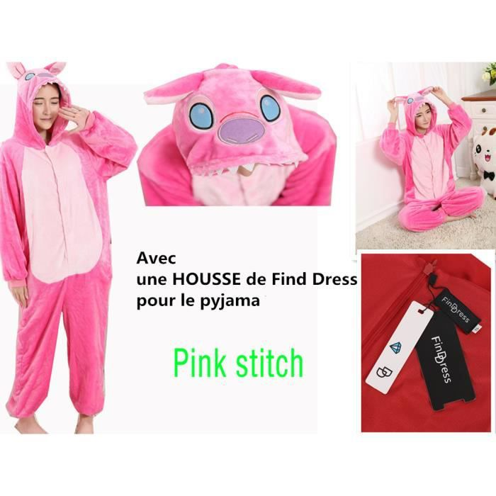 foto de Pyjama Femme Hiver Pilou Confortable chaud Pyjama Combinaison ...