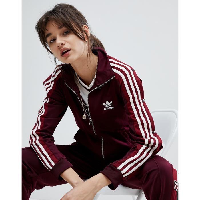 Adidas Originals Adibreak Veste de survêtement Bordeaux