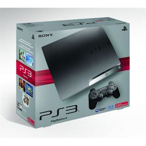 CONSOLE PS3 SONY PS3 SLIM 250 Go