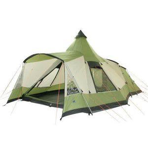 TENTE DE CAMPING 10T Navaho 470+ Tente pyramide pour 5 personnes Ve