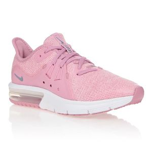 NIKE Baskets Air Max Sequent 3 Enfant fille Rose Gris