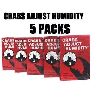 CARTES DE JEU Crabes Adjust Humidité Vol 1,2,3,4,5 Set cartes co