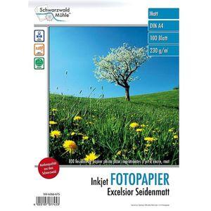 PAPIER PHOTO 100 feuilles papier photo mat A4 - 230 G