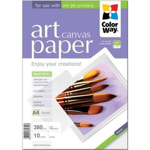 PAPIER PHOTO INSTANTANE ColorWay ART canvas Papier photo coton A3 plus (30