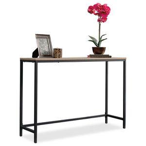CONSOLE Console style industriel, Table d'entrée, Table de