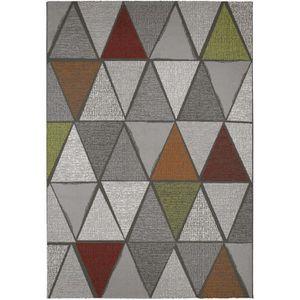 TAPIS MADRID Tapis style contemporain 160X230 cm Gris