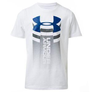 T-shirt manches courtes Vertical Logo Under Armour Gar/çon
