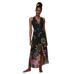 ROBE Desigual Robe femme Magda noir 19SWMW08 - Taille -