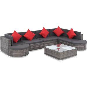 Salon bas de jardin Ensemble de canapé de jardin Ensembles de meubles