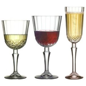 Assortiment de verres SERVICE 18 VERRES A PIED DIONY - PASABACHE