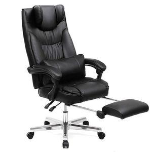 CHAISE DE BUREAU SONGMICS Chaise de bureau confortable avec Appui-t