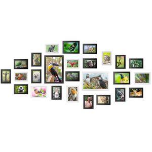 CADRE PHOTO Yorbay Cadre Photo en Grand Format 26 Photos Set (