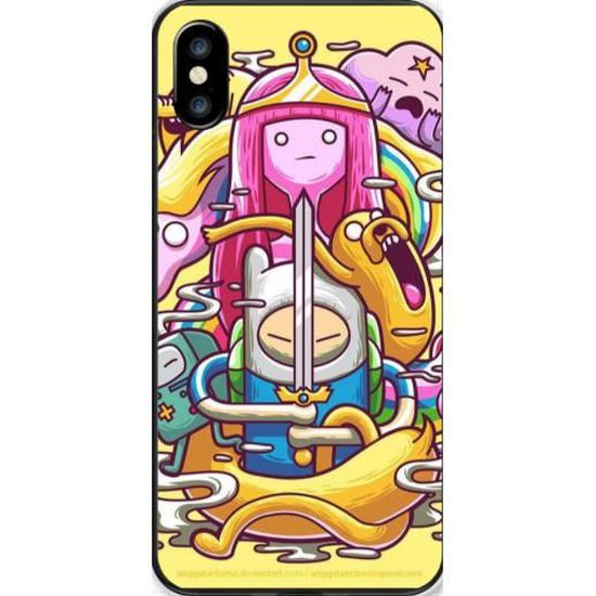 Coque Samsung Galaxy A10 Adventure Time - Cdiscount Téléphonie