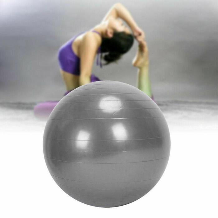 BALLON SUISSE - GYM BALL - SWISS BALL 65Cm Exercice GYM Ball Fitness Core Grossesse Accouchement Anti Burst YIF91011663SL_118