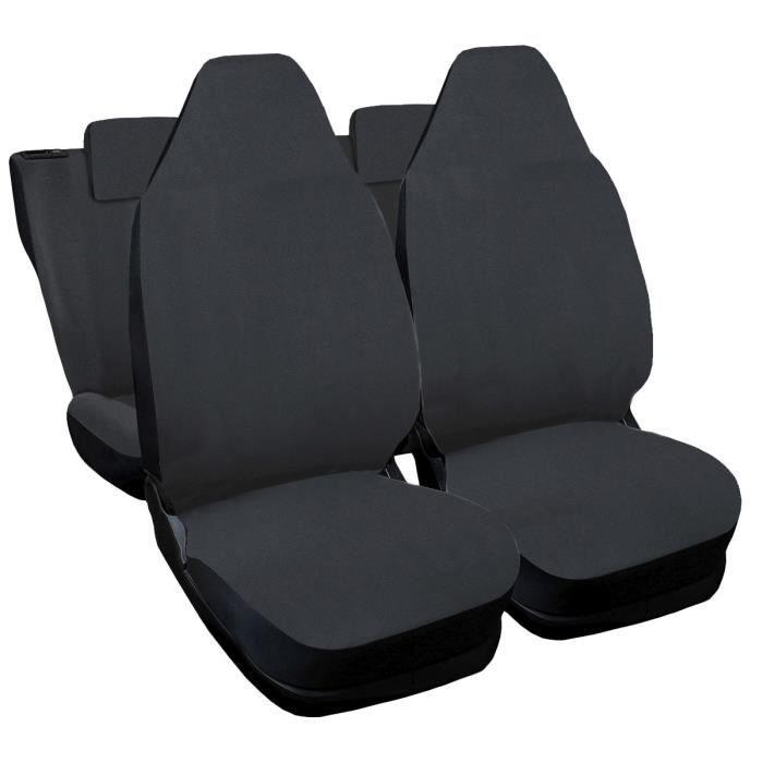 Housses de siège pour Peugeot 107 - gris foncè