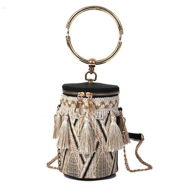 Boisson tasse forme Mini sac à bandoulière femmes unique intérieur poche fermeture éclair sac personnalité utiliser pail ES10965