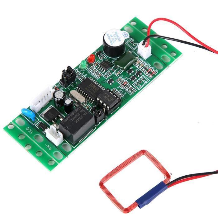 module de contrôle d'accès Carte de contrôle intégrée du module de lecteur RFID 125khz pour contrôleur d'accès 9-12V